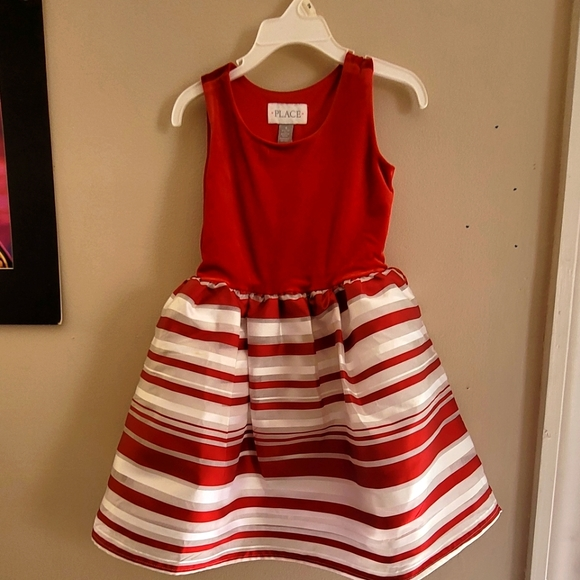 White and red dress never worn